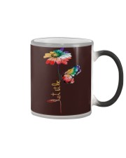 Let It Be Flowers Color Changing Mug thumbnail
