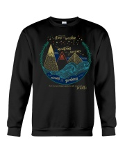 Everything exists to lift you high so will I Crewneck Sweatshirt thumbnail