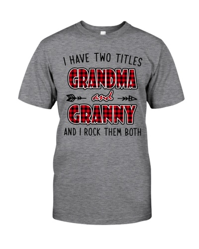 I HAVE TWO TITLES GRANDMA - GRANNY