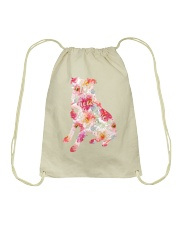 All You Need Love Dog Drawstring Bag thumbnail