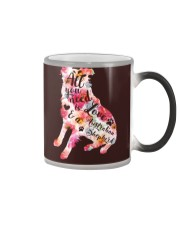 All You Need Love Dog Color Changing Mug thumbnail