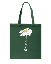 Let It Be Flowers Last Tote Bag thumbnail
