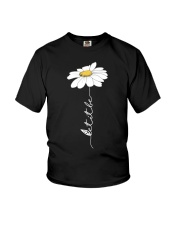 Let It Be Flowers Last Youth T-Shirt thumbnail