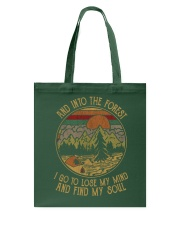 And into forest Tote Bag thumbnail
