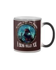 Go ouside - A bear kills you 3 Color Changing Mug thumbnail