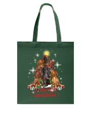 Dogs - Merry Christmas Tote Bag thumbnail
