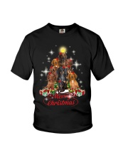 Dogs - Merry Christmas Youth T-Shirt thumbnail