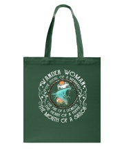 Wander women - The soul of a mermaid Tote Bag thumbnail