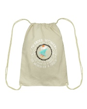 Wander women - The soul of a mermaid Drawstring Bag thumbnail
