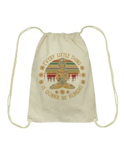 Every little thing - Is gonna be alright Drawstring Bag thumbnail