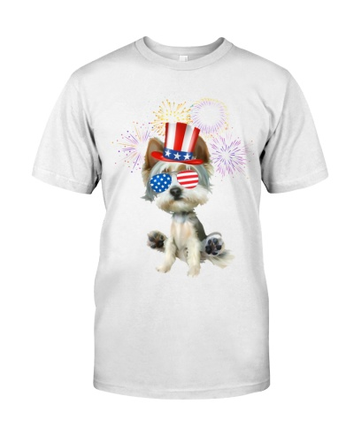 4Th Of July Celebration Of Independence With Dogs
