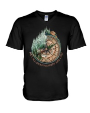 Not All Wander Are Lost V-Neck T-Shirt thumbnail