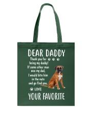 Dear Boxer Daddy Tote Bag thumbnail
