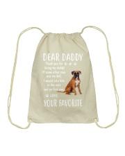Dear Boxer Daddy Drawstring Bag thumbnail