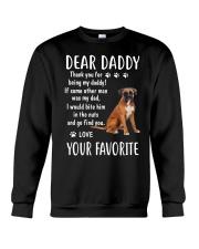 Dear Boxer Daddy Crewneck Sweatshirt thumbnail