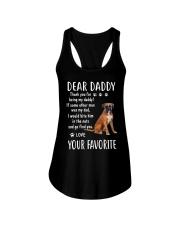 Dear Boxer Daddy Ladies Flowy Tank thumbnail