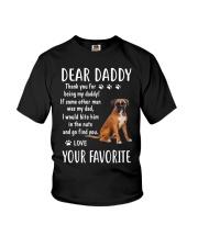 Dear Boxer Daddy Youth T-Shirt thumbnail