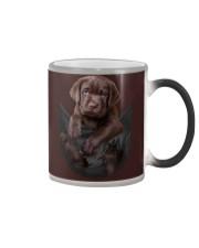 Chocalate Labrador In Pocket Color Changing Mug thumbnail