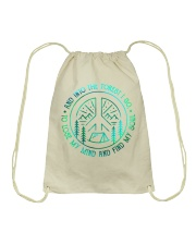 And into forest Drawstring Bag thumbnail