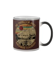 The overlook hotel-Sidewinder colorado Color Changing Mug thumbnail