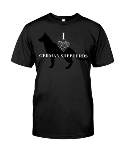I Lover German Shepherds Loyalty Gear