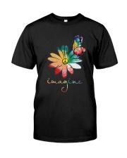 Hippie imagine Classic T-Shirt front
