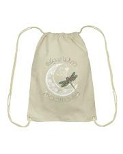 Stay wild moon child Drawstring Bag thumbnail