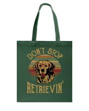 Don't Stop Retrievin - Dog Tote Bag thumbnail