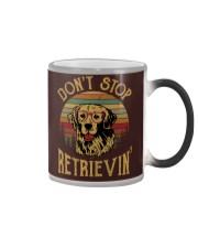 Don't Stop Retrievin - Dog Color Changing Mug thumbnail
