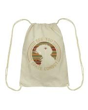 Cow Boy Bebop-Spike Spiegel Drawstring Bag thumbnail