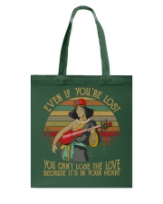 You can't lose the love Tote Bag thumbnail