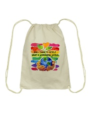 What A Wonderfull World HP01 Drawstring Bag thumbnail