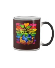 What A Wonderfull World HP01 Color Changing Mug thumbnail