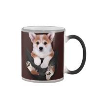 Corgi In Pocket Color Changing Mug thumbnail
