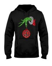Hippie christmas Hooded Sweatshirt thumbnail