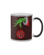 Hippie christmas Color Changing Mug thumbnail