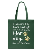 Her Dog And Her Other Dog Tote Bag thumbnail