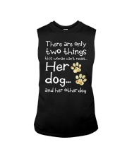 Her Dog And Her Other Dog Sleeveless Tee thumbnail