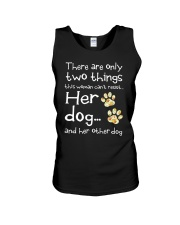 Her Dog And Her Other Dog Unisex Tank thumbnail