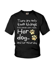 Her Dog And Her Other Dog Youth T-Shirt thumbnail