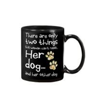 Her Dog And Her Other Dog Mug thumbnail