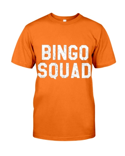 Bingo Squad Funny Lucky Senior Citizen Bingo Playe