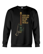 Keep on rockin in the world Crewneck Sweatshirt thumbnail