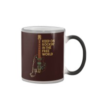 Keep on rockin in the world Color Changing Mug thumbnail