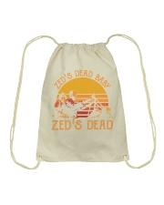 Zed's dead baby-Zed's dead Drawstring Bag thumbnail