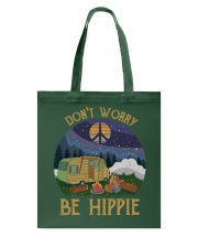 Don't worry be hippie Tote Bag thumbnail