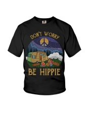 Don't worry be hippie Youth T-Shirt thumbnail