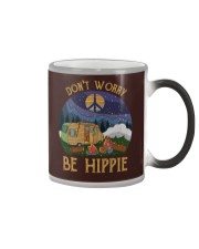 Don't worry be hippie Color Changing Mug thumbnail