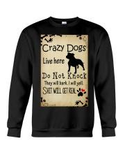Crazy Dogs - Paw Crewneck Sweatshirt thumbnail