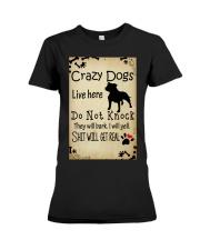 Crazy Dogs - Paw Premium Fit Ladies Tee thumbnail